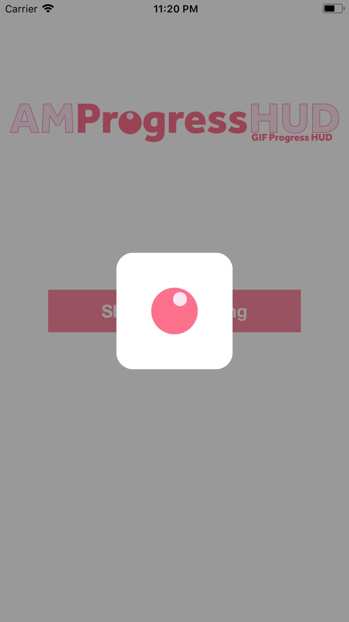 AMProgressHUD screenshot