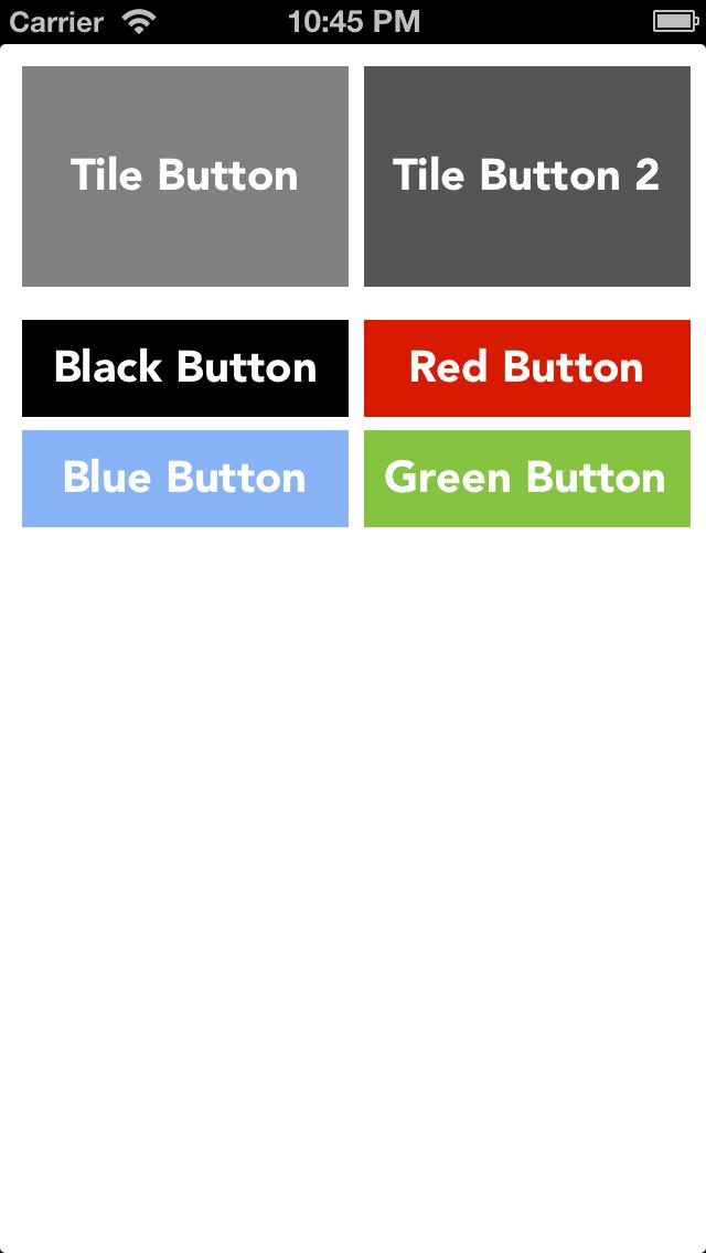 FlatButtons screenshot