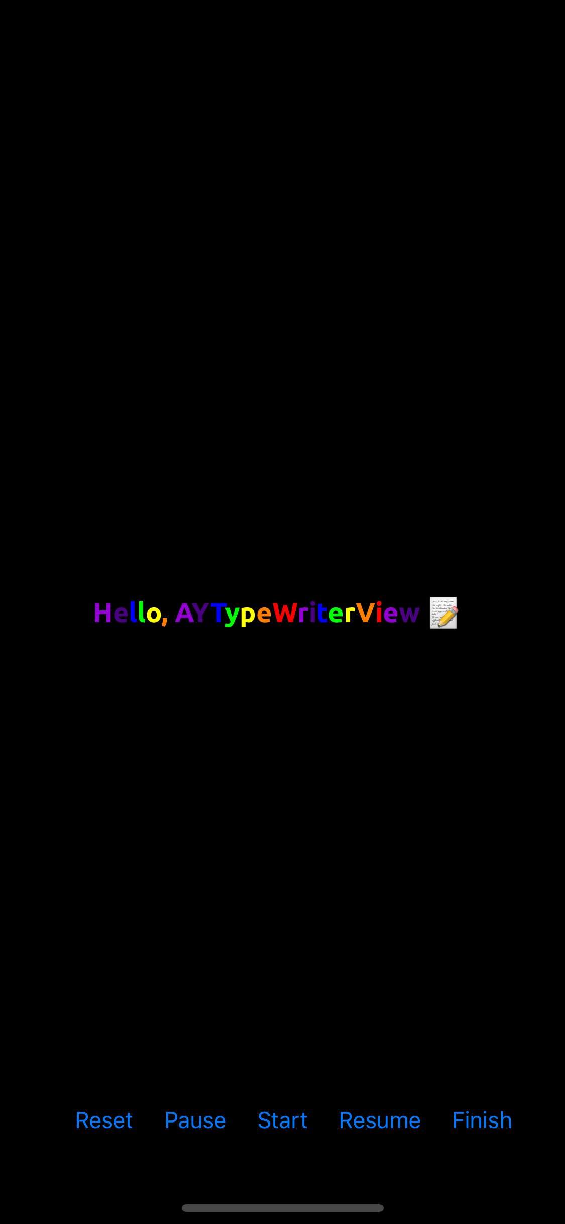 AYTypeWriter screenshot