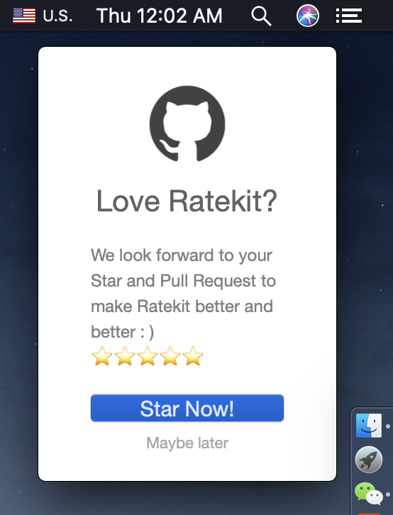 RateKit screenshot