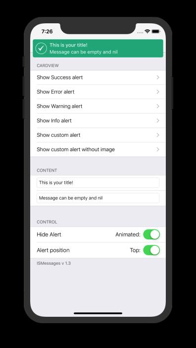 ISMessages screenshot