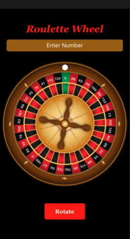 RouletteWheel screenshot