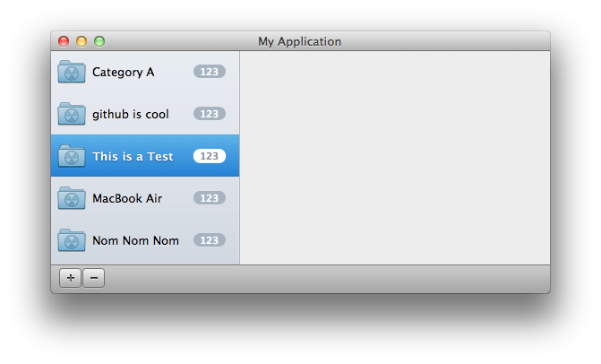 OSXBoilerplate screenshot