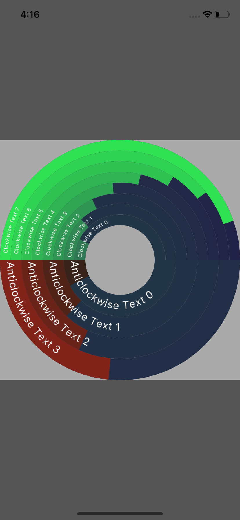 VennPieChart screenshot