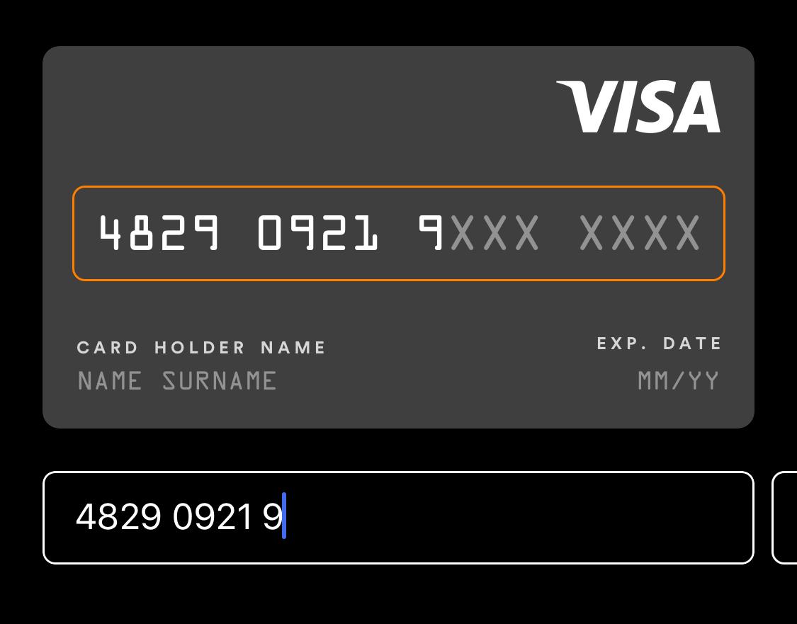 TinyCreditCard screenshot