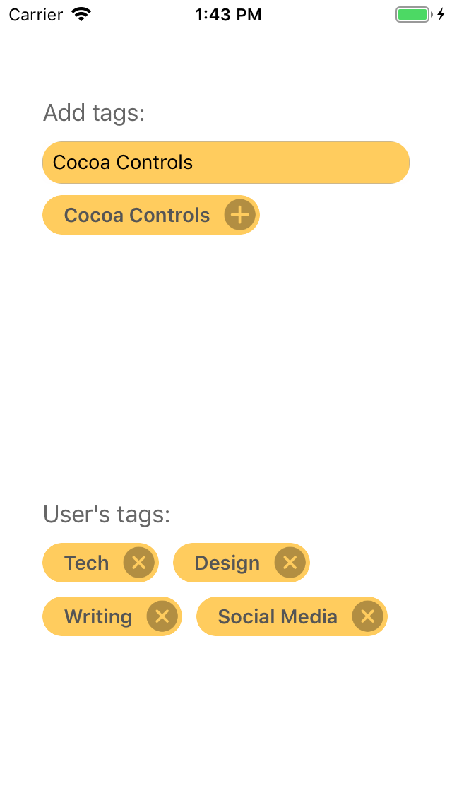 TaggerKit screenshot