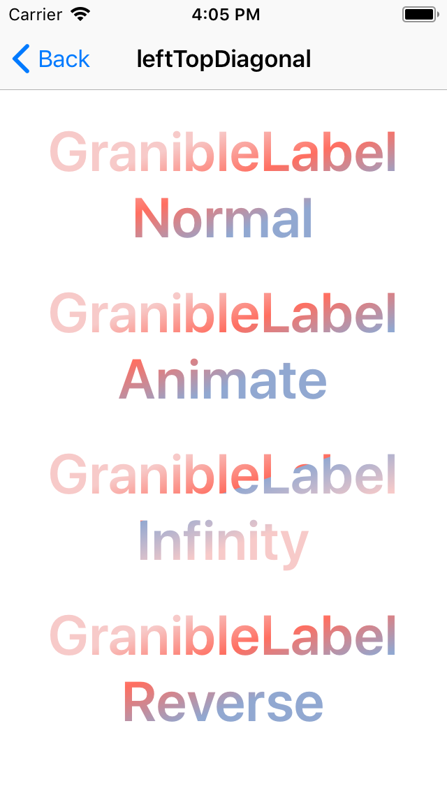 GranibleLabel screenshot
