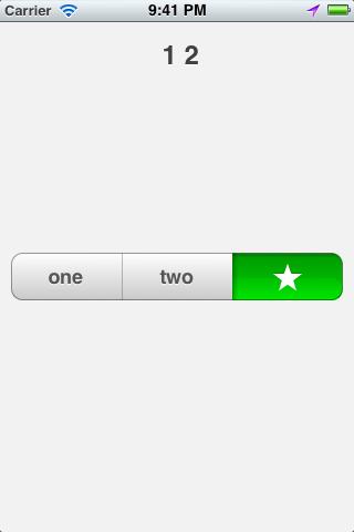MCSegmentedControl screenshot