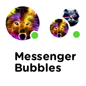 MessengerBubbles screenshot