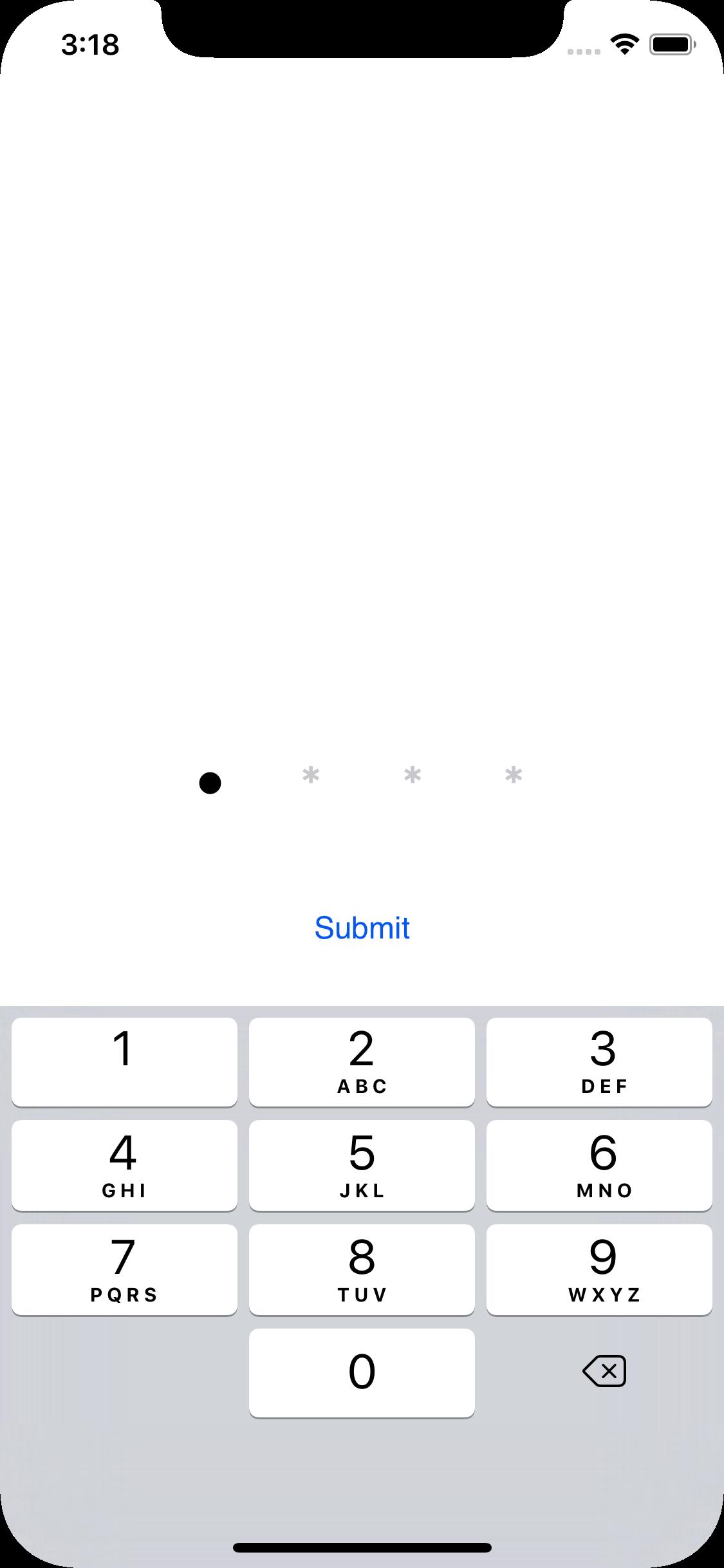 KPassCode screenshot
