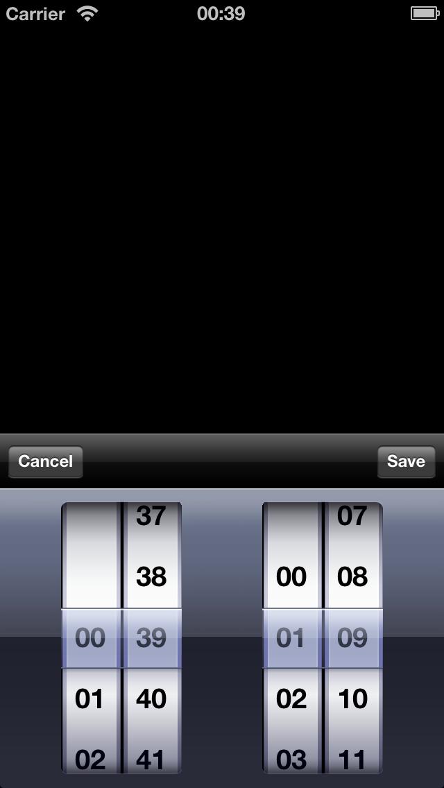 MSCTimeSpanPicker screenshot
