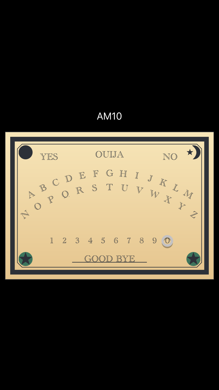 AMOuijaBoard screenshot