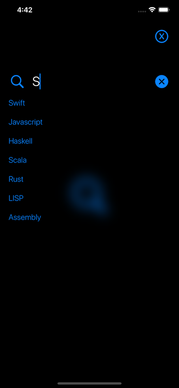 SpotlightSearch screenshot