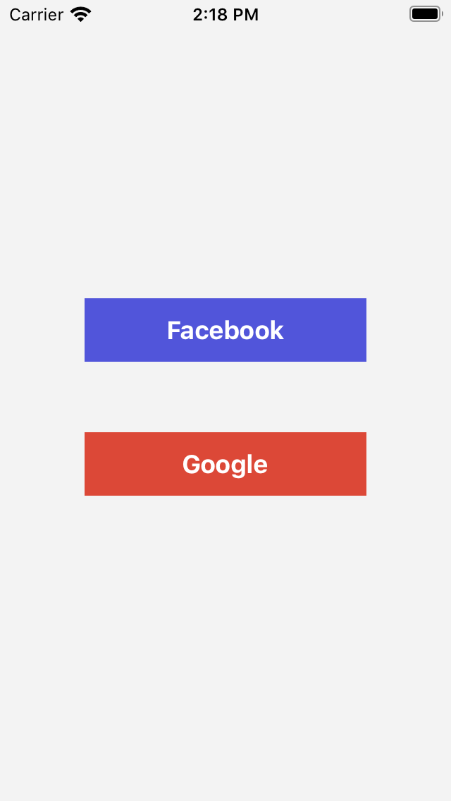 RRSocialLogin screenshot