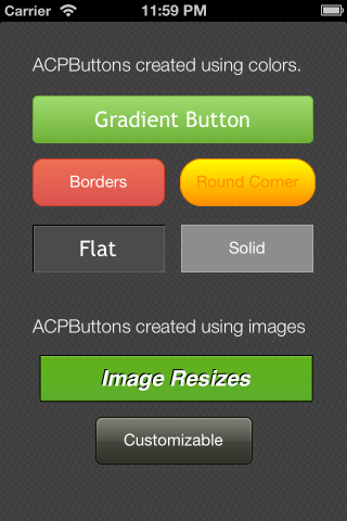 ACPButton screenshot