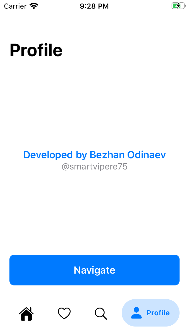 BottomBar SwiftUI screenshot
