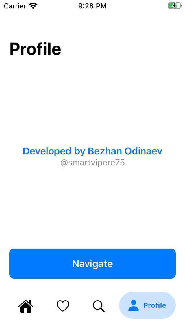BottomBar SwiftUI screenshot
