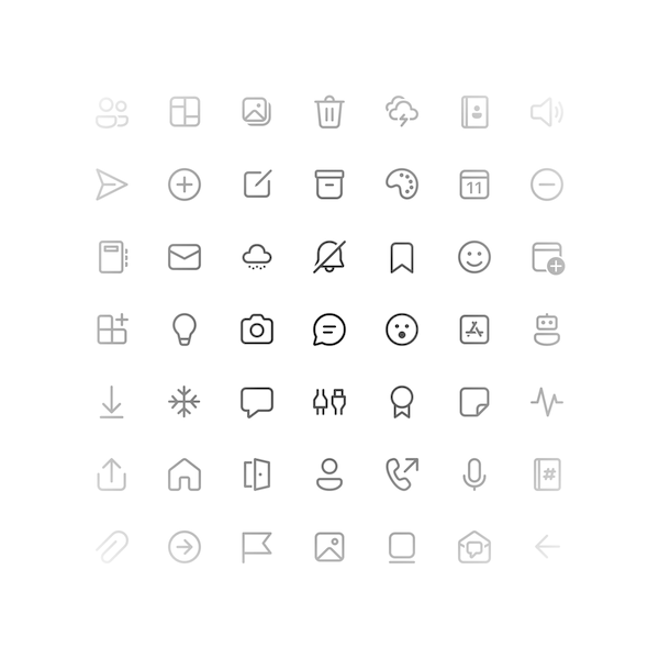 FluentUI System Icons screenshot