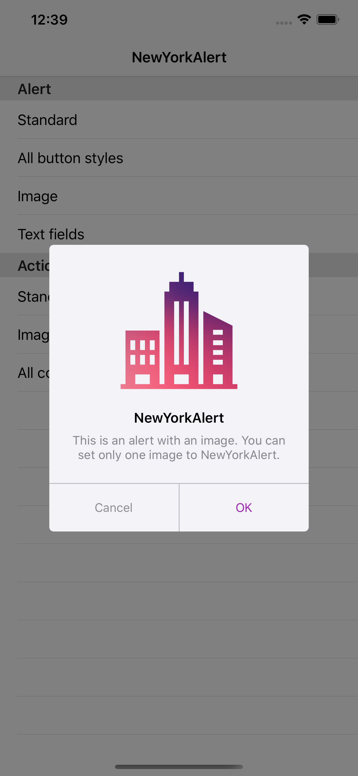 NewYorkAlert screenshot