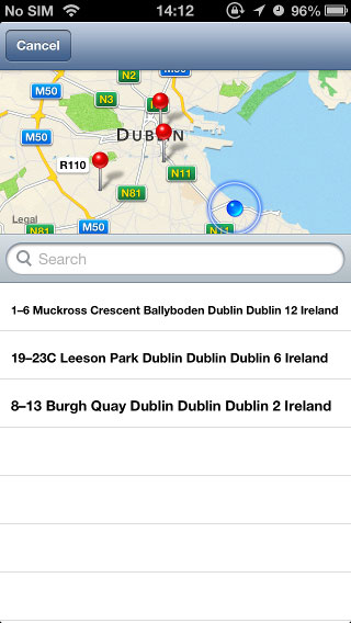SPHLocationPicker screenshot