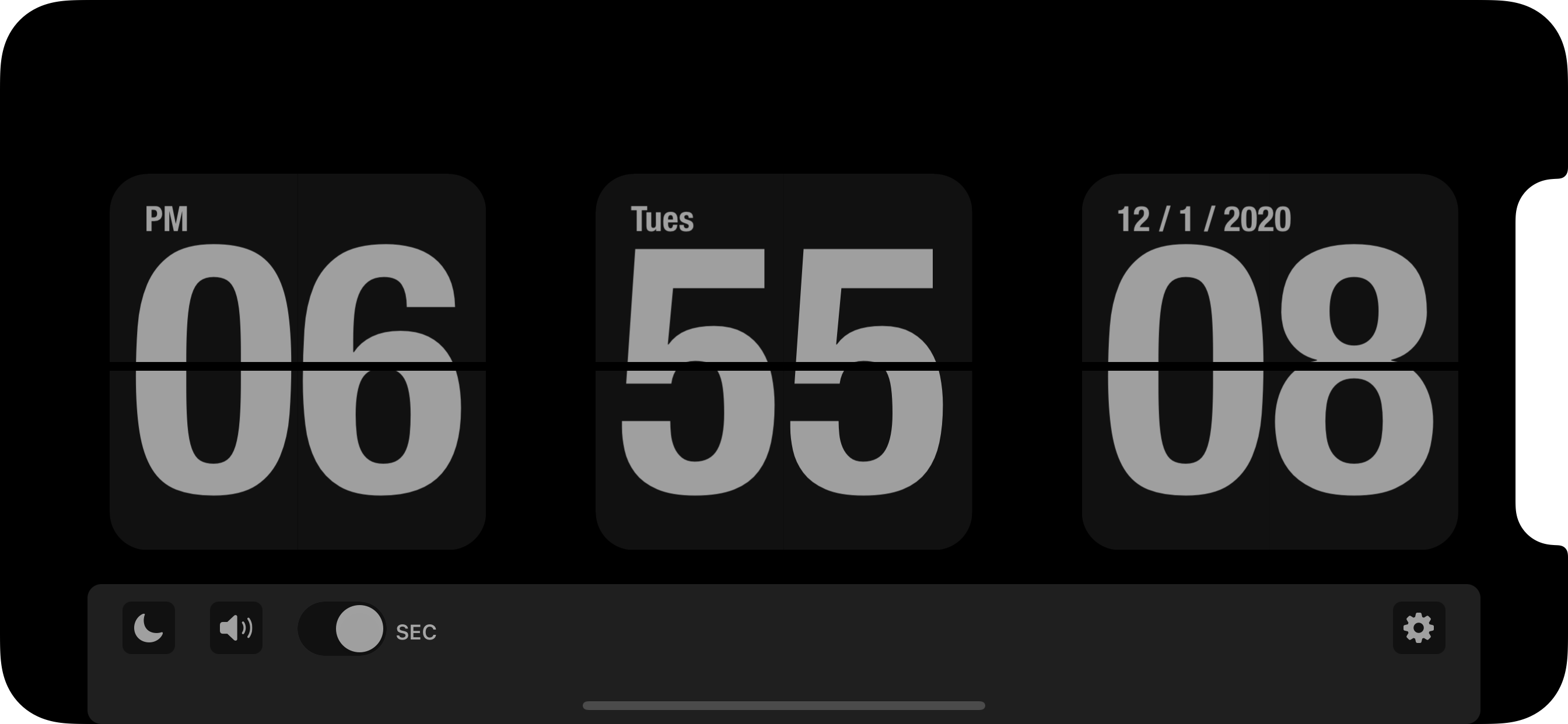 FlipClock screenshot