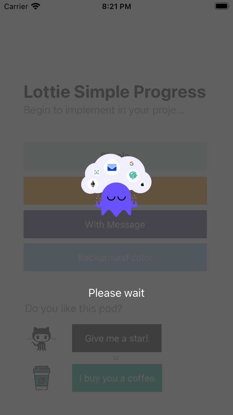 IGProgressLottie-Swift screenshot