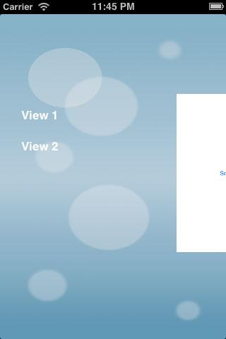 iOS7Menu screenshot