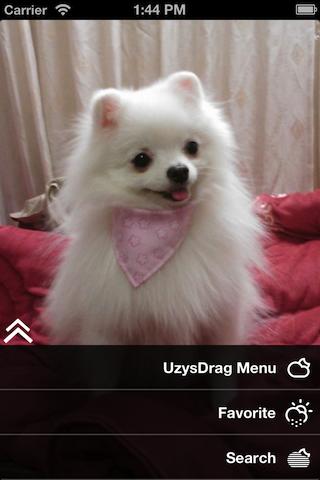 UzysDragMenu screenshot