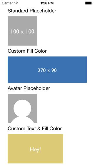 DRImagePlaceholderHelper screenshot