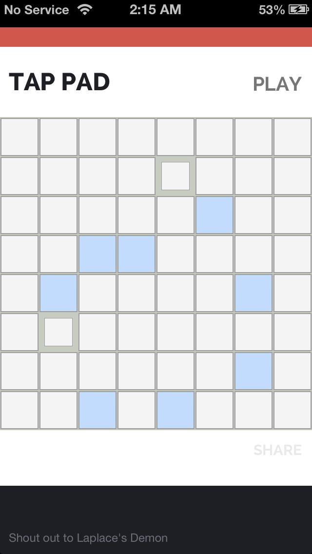 Tap Pad screenshot