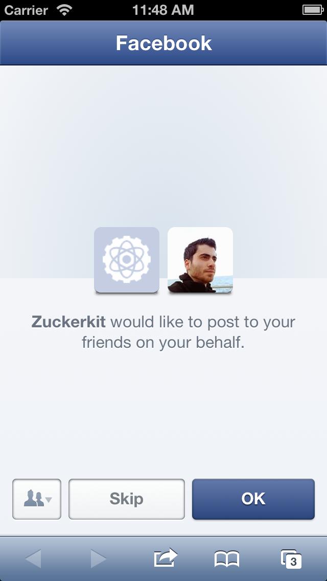 Zuckerkit screenshot