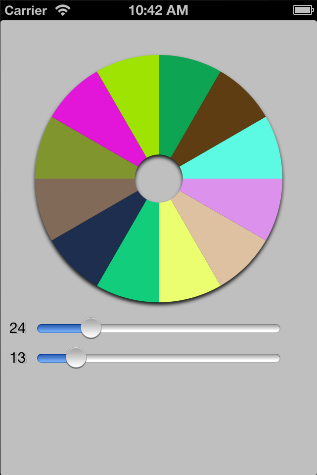 PieChart screenshot