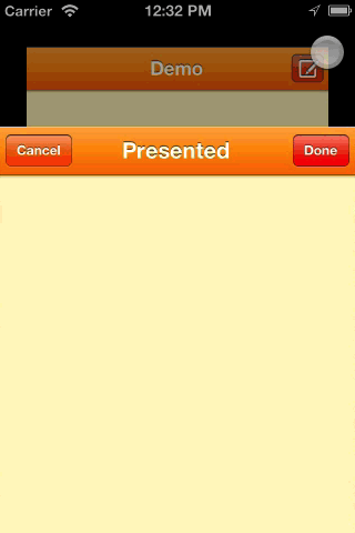 DCModalSegue screenshot