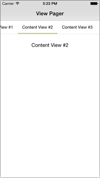 ICViewPager screenshot