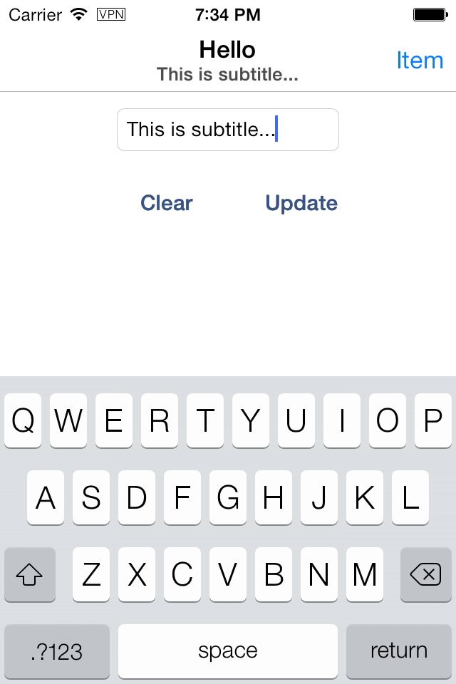 ZGNavigationBarTitle screenshot
