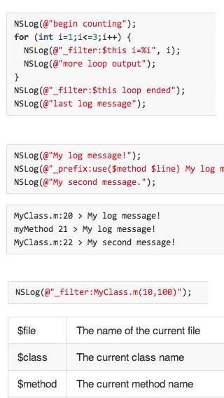 MTLog screenshot