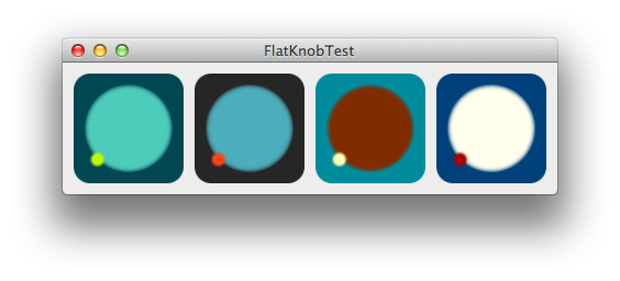 FlatKnob screenshot