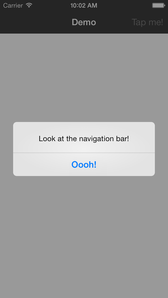 C360NavigationBar screenshot