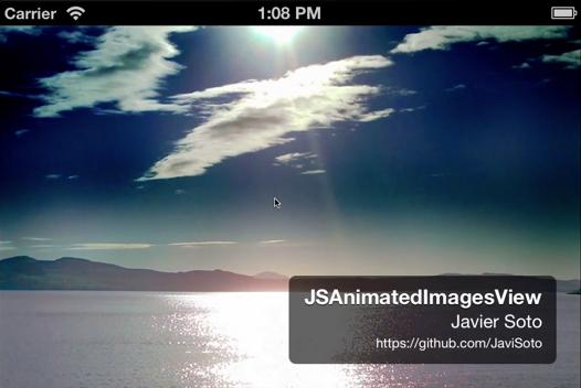 JSAnimatedImagesView screenshot