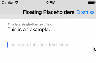 RPFloatingPlaceholders screenshot