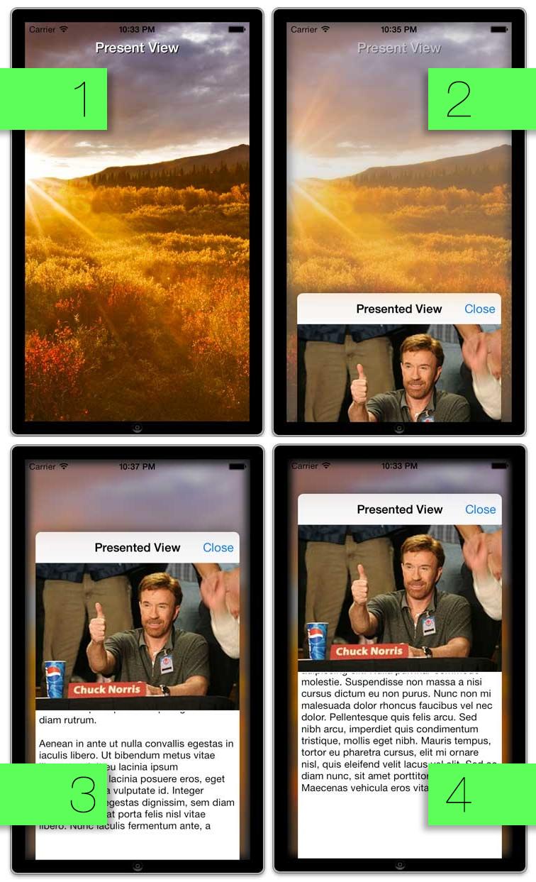JFDepthView screenshot