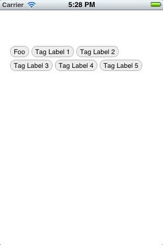 DWTagList screenshot