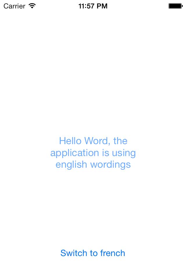LanguagesManager screenshot
