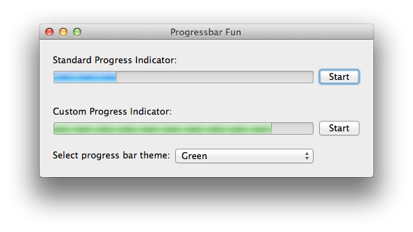 GRProgressIndicator screenshot
