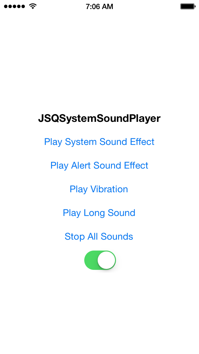 JSQSystemSoundPlayer screenshot