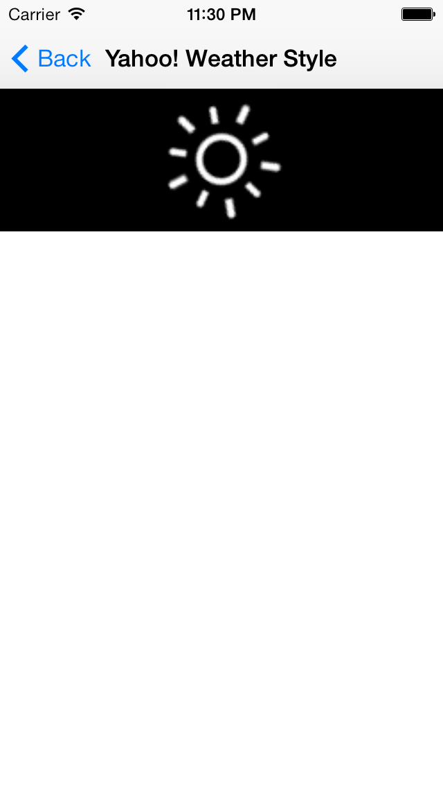 GIFRefreshControl screenshot