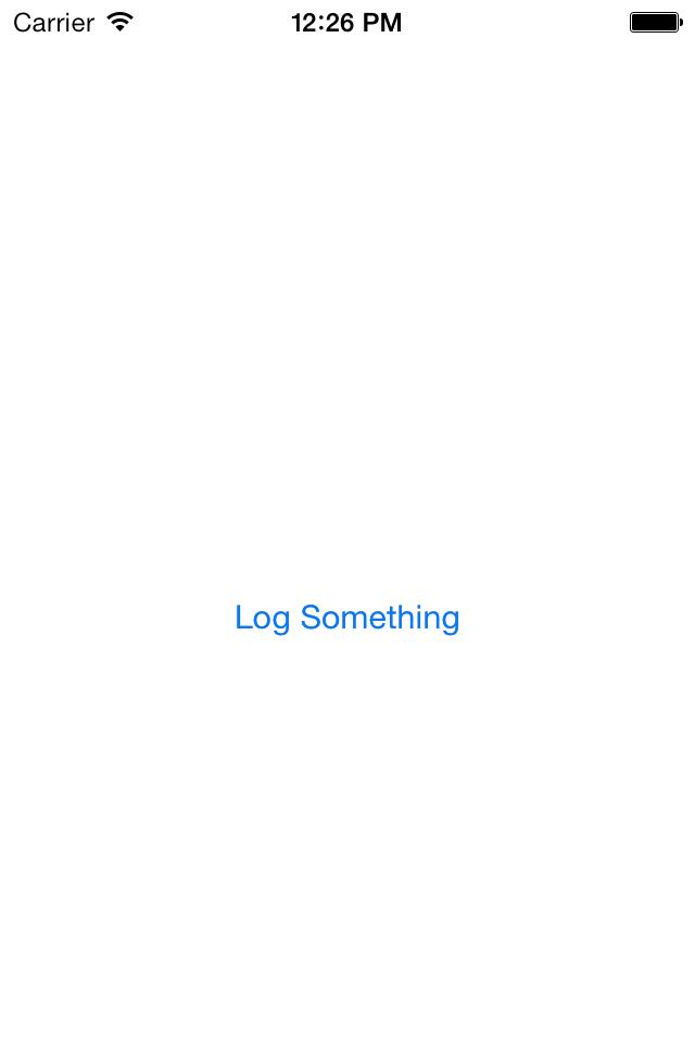 DDMultipeerLogger screenshot