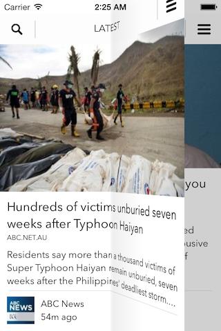 NewsMagazineApp screenshot