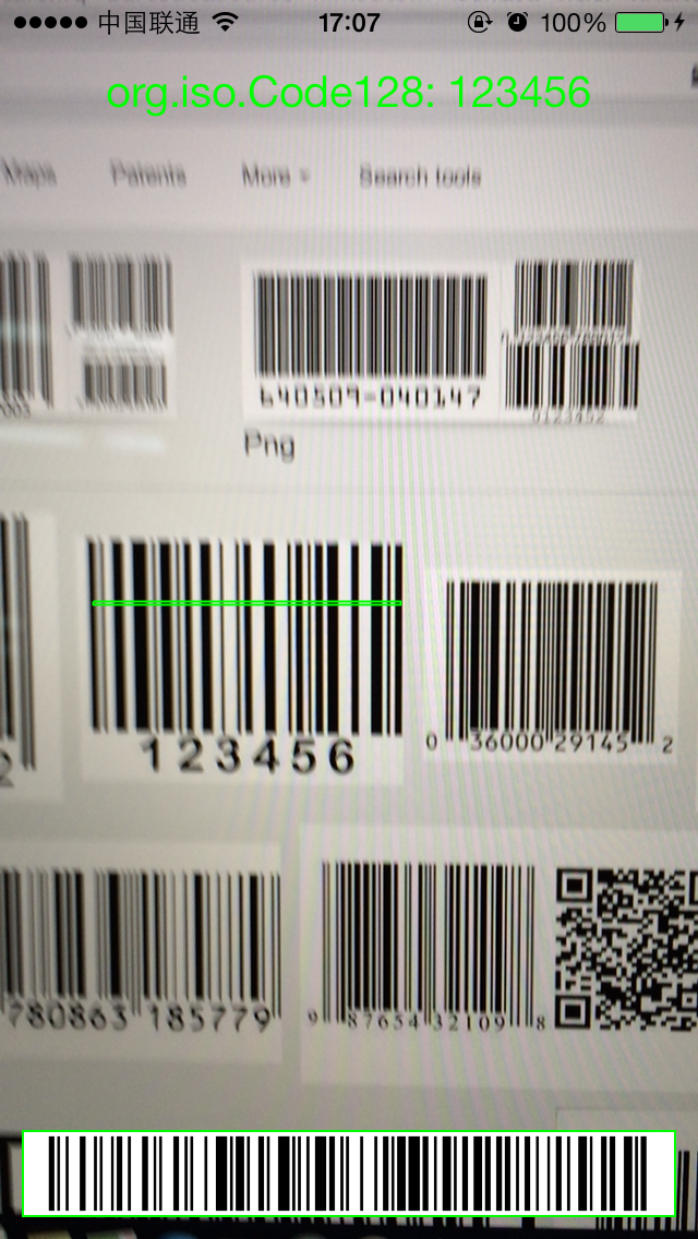 RSBarcodes screenshot