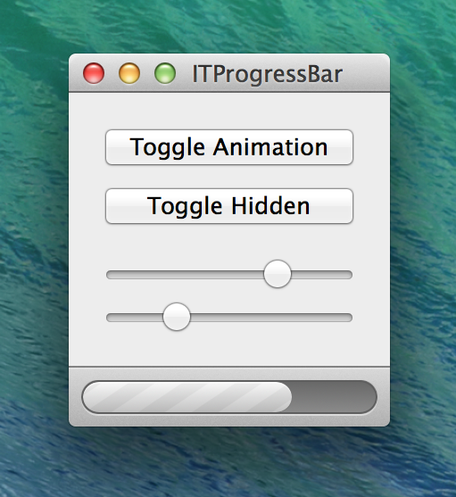 ITProgressBar screenshot